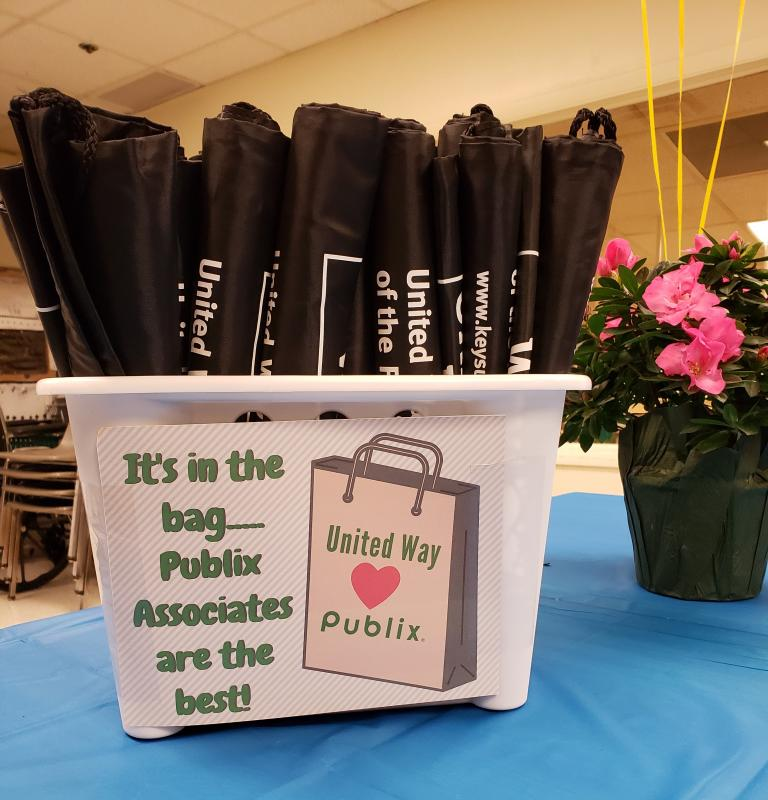 Just a token of our appreciation for Publix associates.