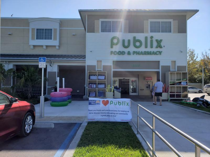 Thank you to the Islamorada Publix manager and associates!