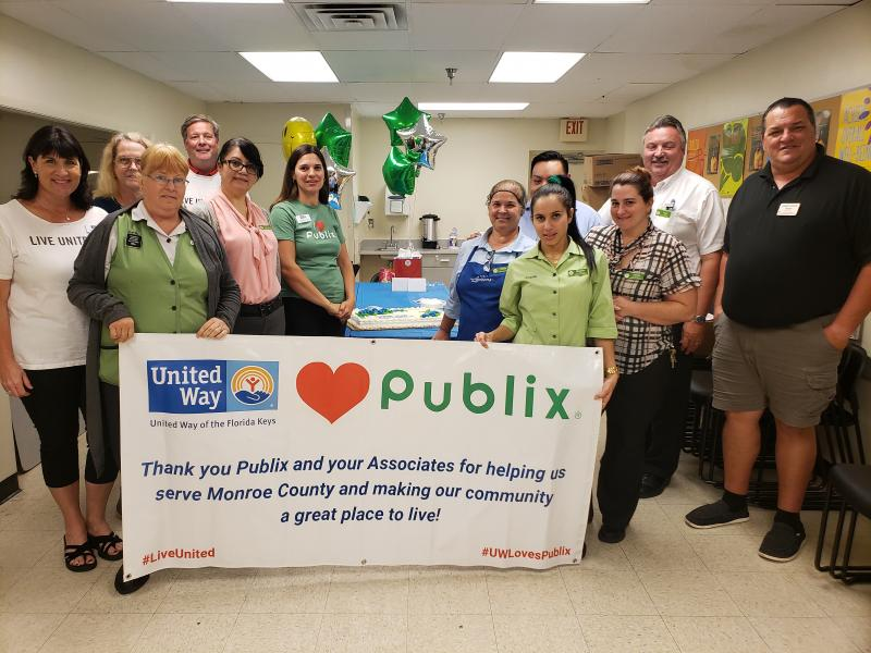 Thank you to the manager and the associates at the Key Largo Publix!