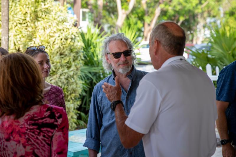 Coral Restoration Foundation CEO Scott Winters.