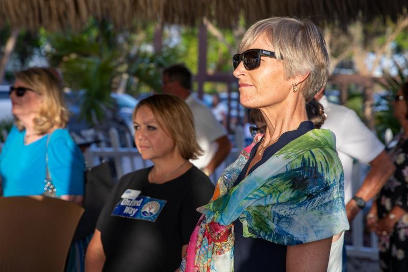 Brandi Horton, UWCK Local Advisory Board member and Sarah Fangman of NOAA.