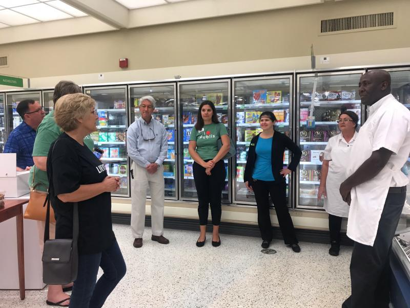 Our partner agency tells associates how their workplace giving assists residents throughout the Keys.