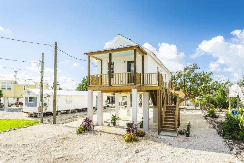 UWFK was proud to partner with Florida Keys Community Land Trust, as well as others, to build the first affordable Keys Cottages.