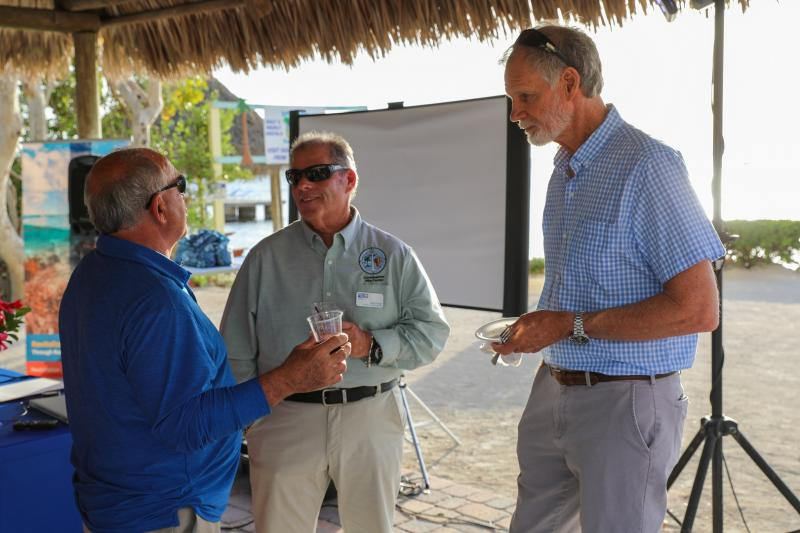 UWCK Local Advisory Board member and County Commissioner Mike Forster enjoys the event.